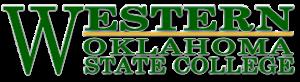 Western Oklahoma State College - Image: Western OK State College logo