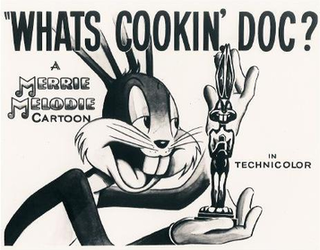 <i>Whats Cookin Doc?</i> 1944 animated short film directed by Bob Clampett