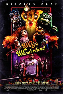 Wally's Wonderland 2021 USA Kevin Lewis Emily Tosta Beth Grant Ric Reitz  Horror, Thriller