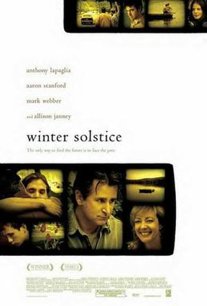 Winter Solstice (film) - promotional poster