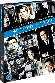 <i>Without a Trace</i> (season 3) Season of television series