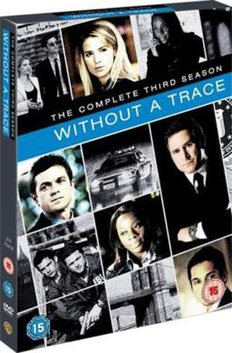 Without a Trace (season 3) - DVD cover