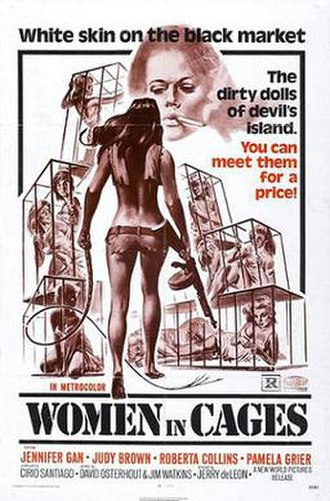 Women in Cages - Theatrical release poster