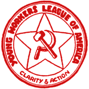 Young Communist League USA - Logo of the YWL, established in 1922.