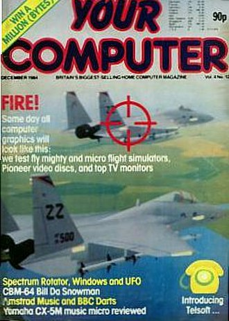 Your Computer (British magazine) - Cover of Your Computer from December 1984