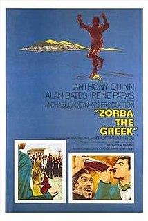<i>Zorba the Greek</i> (film) 1964 film by Michael Cacoyannis
