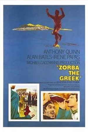 Zorba the Greek (film) - Original film poster