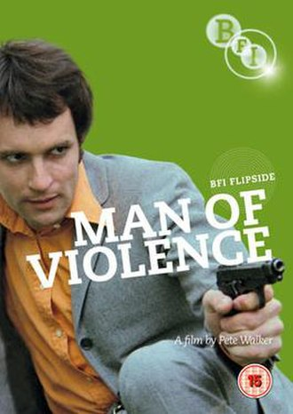 Man of Violence - BFI DVD cover