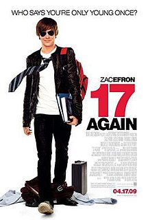 <i>17 Again</i> (film) 2009 American film by Burr Steers