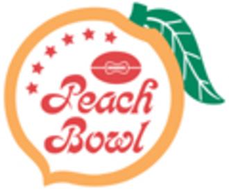 1981 Peach Bowl (January) - Peach Bowl logo
