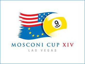 2007 Mosconi Cup - Image: 2007 Mosconi Cup Logo