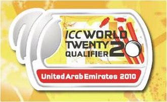 2010 ICC World Twenty20 Qualifier - Image: 2010 ICC World Twenty 20 Qualifier
