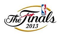 NBA Finals wordmark logo.