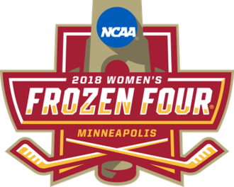 2018 NCAA National Collegiate Women's Ice Hockey Tournament - 2018 Women's Frozen Four logo