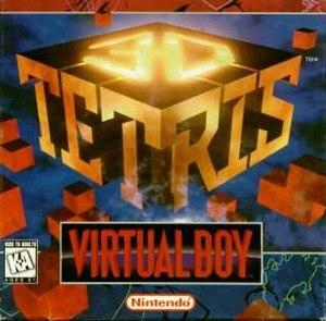 3D Tetris - Box art