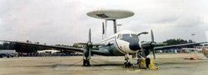 Airborne Surveillance Platform - ASP Airavat during the tests in 1996