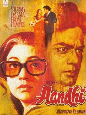 Aandhi - Film poster