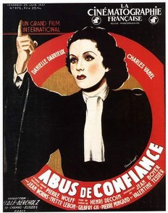 Abused Confidence - Image: Abus de confiance 1938