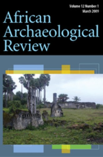 African Archaeological Review - Image: African Archaeological Review