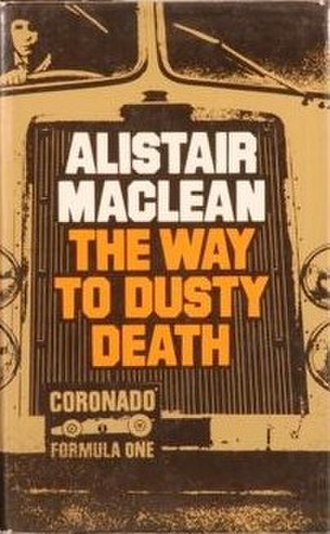 The Way to Dusty Death - First edition cover (UK)