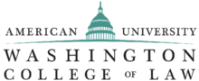 American University Washington College of Law logo.png