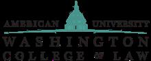 American University Washington College of Law logo.png