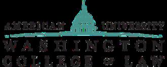 Washington College of Law - Image: American University Washington College of Law logo