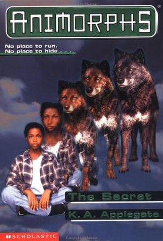 The Secret (K. A. Applegate novel) - Cassie morphing into a wolf