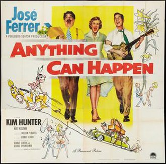 Anything Can Happen - Theatrical release poster