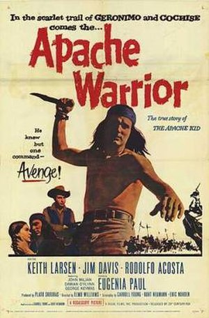 Apache Warrior - Theatrical release poster