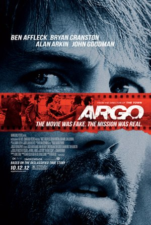 Argo (2012 film) - Theatrical release poster