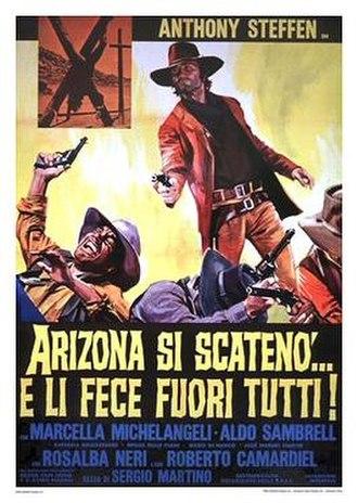 Arizona Colt Returns - Italian theatrical release poster
