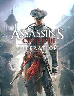 <i>Assassins Creed III: Liberation</i> 2012 sequel video game to Assassins Creed III