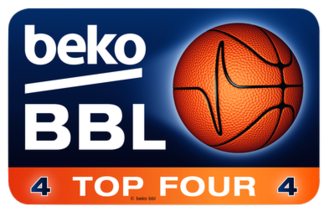 German Basketball Cup - Image: BBL Top Four logo