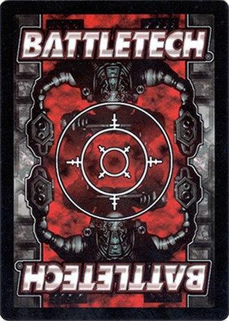 BattleTech Collectible Card Game - Card back to BattleTech CCG