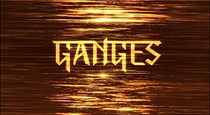 Ganges (TV series) - Series title card from UK broadcast