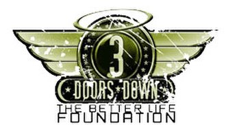 3 Doors Down - The Better Life Foundation logo