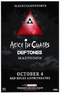 Blackdiamondskye Concert tour by American rock bands Alice in Chains, Deftones and Mastodon