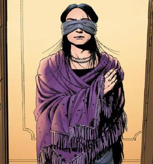 Blindfold (comics) - Blindfold. Art by John Cassaday.