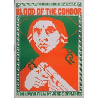 Blood of the Condor - Theatrical release poster