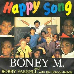 "1984 single ""Happy Song"", Hansa Reco..."