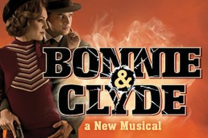 Bonnie & Clyde (musical) - Original Broadway poster