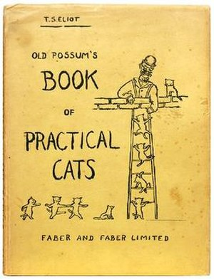 Old Possum's Book of Practical Cats - First edition cover