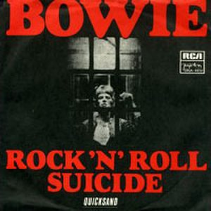 Rock 'n' Roll Suicide - Image: Bowie Rock N Roll Suicide