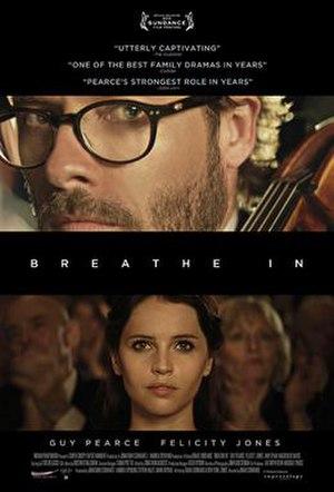 Breathe In (film) - Image: Breathe In 2013 Poster