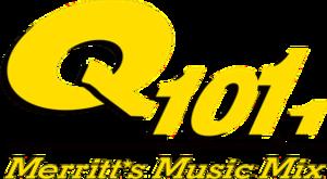 CKMQ-FM - Image: CKMQ Q101.1 logo