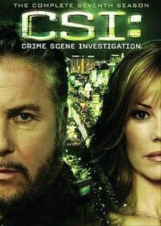 <i>CSI: Crime Scene Investigation</i> (season 7) Season of American television series CSI: Crime Scene Investigation