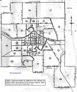 Calgary (provincial electoral district) Defunct provincial electoral district in Alberta
