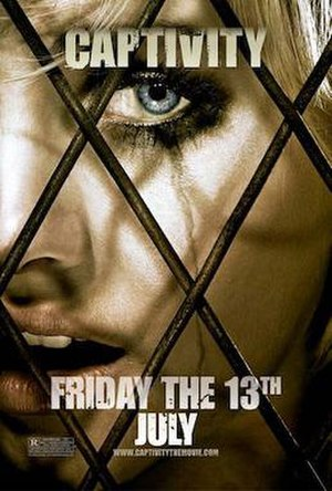 Captivity (film) - Theatrical release poster
