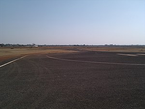 Bilaspur Airport - Helipad of the airport